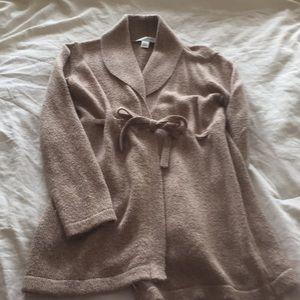 Tan Heather Maternity Sweater